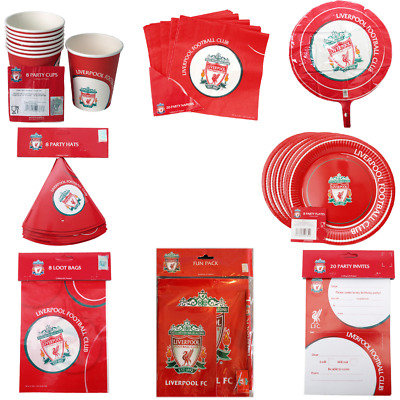 £7.99 • Buy Liverpool FC Party Items Multi Listing Perfect For Parties Birthdays