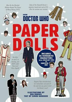 £5.51 • Buy Doctor Who Paper Dolls By Simon Guerrier (Paperback / Softback) Amazing Value