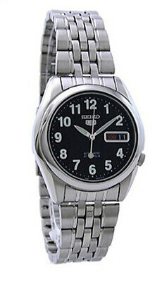 $ CDN113.15 • Buy Seiko 5 Automatic SNK381 SNK381K1 Men See Through Day Date Stainless Steel Watch