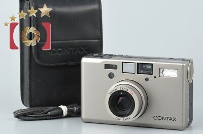 $ CDN1910.94 • Buy Very Good!! CONTAX T3D Data Back Single Teeth 35mm Point & Shoot Film Camera