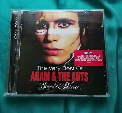 £8.99 • Buy Stand & Deliver: The Very Best Of Adam & The Ants CD PLUS DVD.