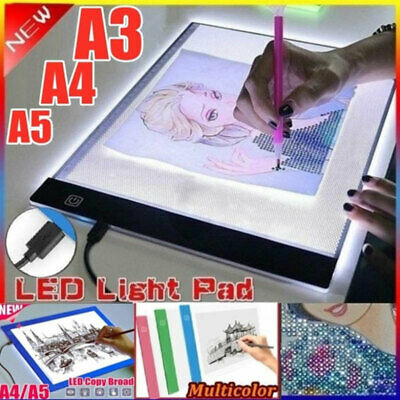 AU17.72 • Buy Diamond Painting Embroidery Tools LED Light Pad Dimmable Light Board Full Dri