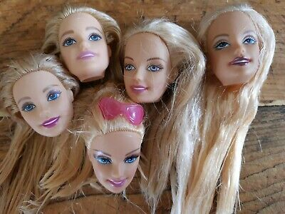 Barbie Replacement Spare Heads Ooak • 12£