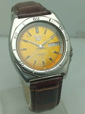 $ CDN62.66 • Buy Rare Seiko 5 Sports Automatic 7009-8570 Day And Date Vintage Men's Watch