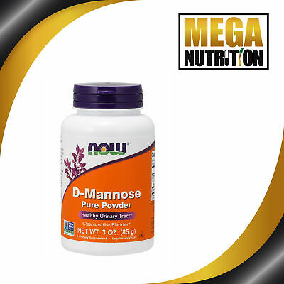 AU44.51 • Buy NOW Foods D-Mannose Pure Powder 85g UTI Bladder Support Urinary Tract Infection