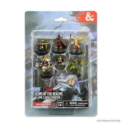 £28.49 • Buy D&D Icons Of The Realms Miniatures: Epic Level Starter Set  [New & Sealed]