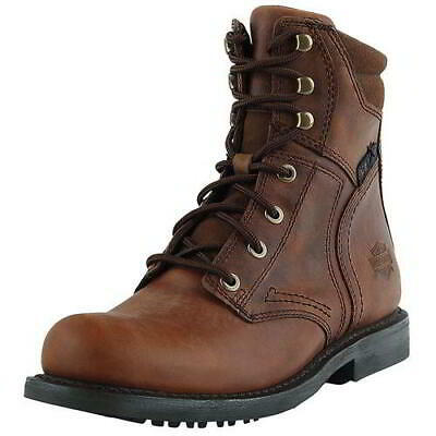 $ CDN230.82 • Buy Harley Davidson Mens Darnel CE Brown Motorcycle Biker Boots Size 7-11