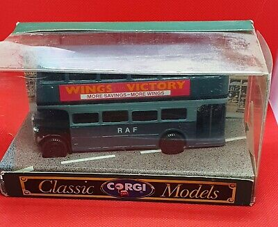 $ CDN8.63 • Buy CORGI CLASSIC MODELS RAF WINGS FOR VICTORY DOUBLE-DECKER AEC BUS Never Played