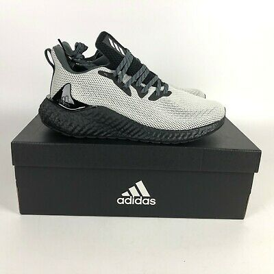 $ CDN115.29 • Buy Adidas Alphaboost Boost Running Shoes Men's Size 9 White FW4548