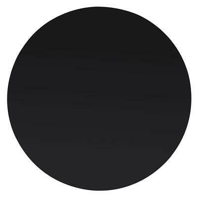 AU38.50 • Buy Dining Coffee Table Top Strong Tempered Glass Round 500mm, Thickness: 8mm Black