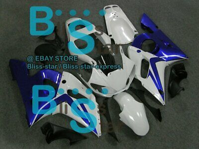 $495 • Buy White Glossy INJECTION Fairing Fit Yamaha YZFR6 YZF-R6 99 00 01 1998-2002 17 A3
