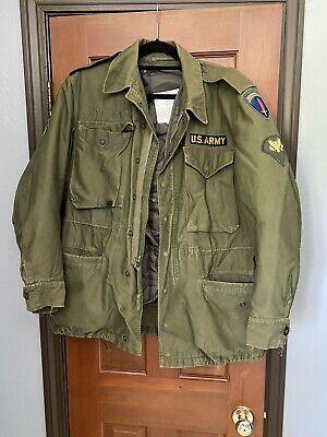 $59 • Buy US Army Field Jacket Shell And Liner M-1951 Korean War