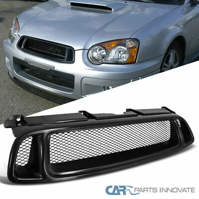 $25.95 • Buy For Subaru 04-05 Impreza WRX STI RS Mesh Black Front Upper Hood Bumper Grille