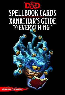 AU24.96 • Buy Dungeons & Dragons Spellbook Cards Xanathar's Guide To Everything