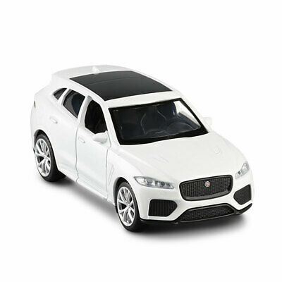 AU24.55 • Buy Jaguar F-Pace SUV 1:36 Model Car Diecast Toy Vehicle Gift Kids Collection White