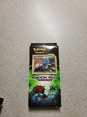 $20 • Buy Pokemon LUCARIO Knockout Collection Box Booster Cards Packs Coin SEALED