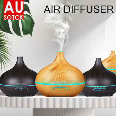AU18.02 • Buy 550ML Aroma Aromatherapy Diffuser LED Oil Ultrasonic Air Humidifier Purifier