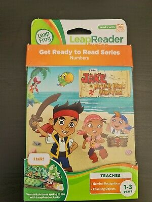 £2.76 • Buy LeapFrog LeapReader Tag Junior Counting & Number Book Disney Never Land Pirates