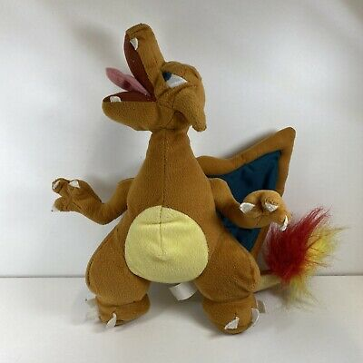 """£20 • Buy Vintage Official Pokemon Play By Play 10"""" Charizard Plush Toy Nintendo Rare"""