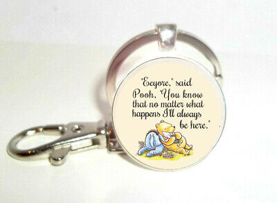 £8.78 • Buy Winnie The Pooh   Eeyore,  Said Pooh,  You Know That No Matter What..  Key Ring