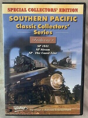 £14.16 • Buy Railroad Train DVD Southern Pacific SP 1941 SP Steam Coast Line Collector Series