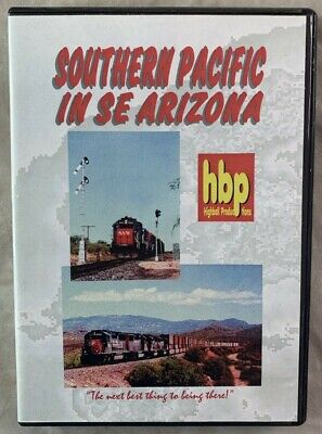 £14.16 • Buy Railroad Train DVD Southern Pacific In SE Arizona Sunset Route