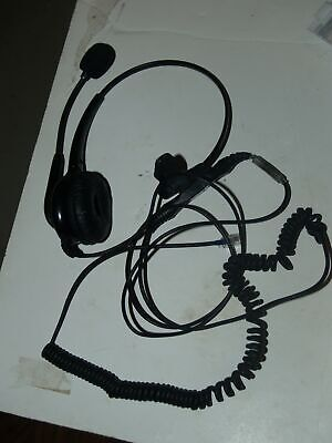 £7.08 • Buy OvisLink OVHS072-PSR Call Center & Office Headset-padded Ear W/Quick Link-Used
