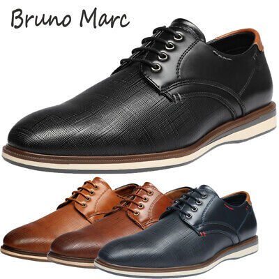 $28.79 • Buy Bruno Marc Mens Formal Dress Shoes Oxford Shoes Lace Up Casual Shoes Size 6.5-13