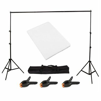 Product Shooting Backdrop Frame Kit Studio Background Support Stand White Screen • 24.79£
