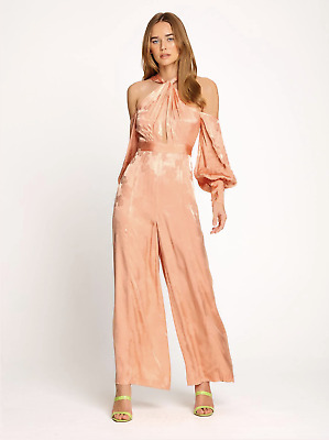 AU160 • Buy Bnwt Alice Mccall Iced Guava Memory Lane Jumpsuit - Size 14 Au/10 Us (rrp $450)