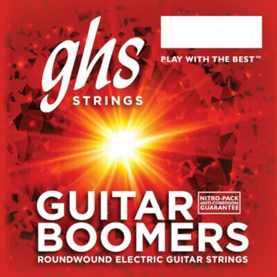 $ CDN11.24 • Buy GHS Boomers Guitar Strings Roundwound Electric Low Set 11-53