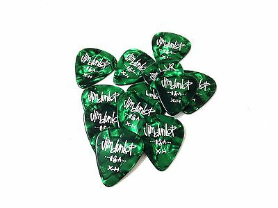 $ CDN11.35 • Buy Dunlop Guitar Picks 12 Pack Celluloid Green Pearl Extra Heavy