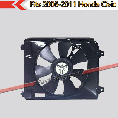 $40.60 • Buy Fits 2006-2011 Honda Civic A/C Condenser Cooling 1.8L Fan Assembly 38611-RNA-A01
