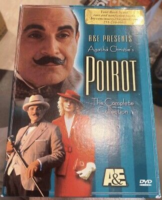 £36.18 • Buy A&E Presents Agatha Christie's Poirot The Complete Collection