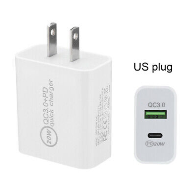 AU13.35 • Buy 20W USB Type-C Wall Fast Charger PD Power Adapter For IPhone 12 11 Pro Max IPad