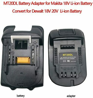 AU22.99 • Buy 18V Battery For Makita Tools Convert To To DEWALT Portable Battery Adapter