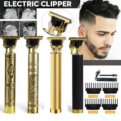 $17.09 • Buy Mens Hair Clippers Beard Trimmer Electric Shaver Barber Haircut Grooming Kit Set