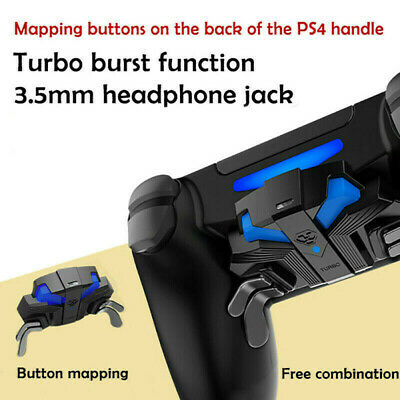 AU52.69 • Buy For PS4 Slim/Pro PO FPS Controller Gamepad Mapping Key W/MODS & Paddles Turbo -!