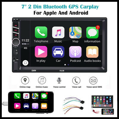 AU86.99 • Buy 7  Double 2 DIN Head Unit Car Stereo MP5 Player Touch Screen Radio FM/USB/AUX AU