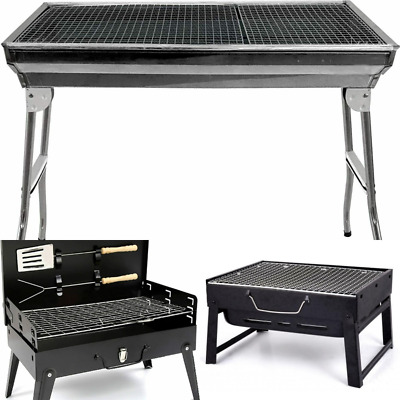 £29.99 • Buy Portable BBQ Barbecue Grill Fire Pit Camping Charcoal Patio Party Garden Outdoor