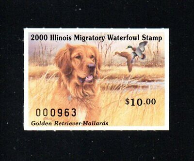 $11.45 • Buy Illinois     Il26     Waterfowl  Duck Stamp   2000    Og  Mnh