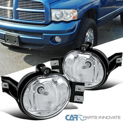 $26.95 • Buy For 02-08 Dodge Ram 1500 2500 3500 04-06 Dodge Durango Clear Fog Lights+Switch