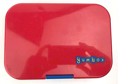 AU21.38 • Buy Yumbox Original (Lunchbox For Kids, Leakproof) Red (Pre-Owned)