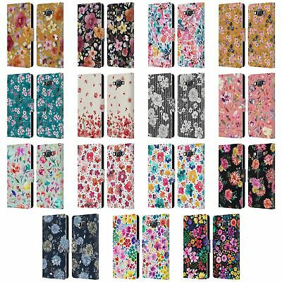 £14.83 • Buy Official Ninola Floral Patterns Leather Book Wallet Case For Samsung Phones 2