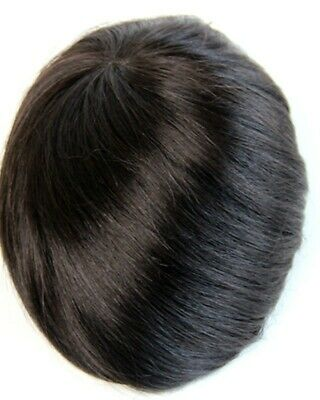 £119.99 • Buy Men's Hairpiece Toupee Mens Hair Wig Replacement System UK SALE DILIVERY 3 DAYS