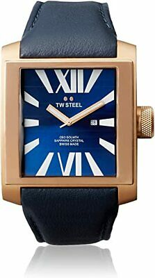 £119 • Buy TW Steel Mens CE3018 CEO Goliath 42mm Blue Dial Dark Brown Leather Watch