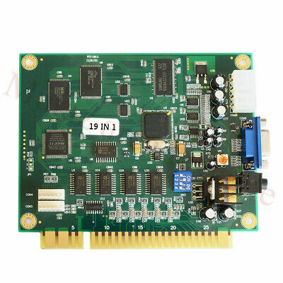£29.60 • Buy 19 In 1 Horizontal Multicade Arcade Multigame PCB Board For Jamma Video Game