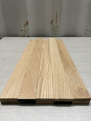 £27.95 • Buy Oak TImber - Natural Wood- Offcuts - Hardwood 10 Pieces 48mm X 10mm X 500mm Long