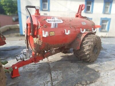 £40 • Buy Rare Britains Conversion  Weathered Redrock Slurry Tanker For Tractor Siku