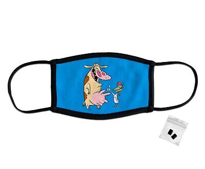 £6.99 • Buy Cow And Chicken Classic Face Mask Protection Washable Reusable Breathable UK
